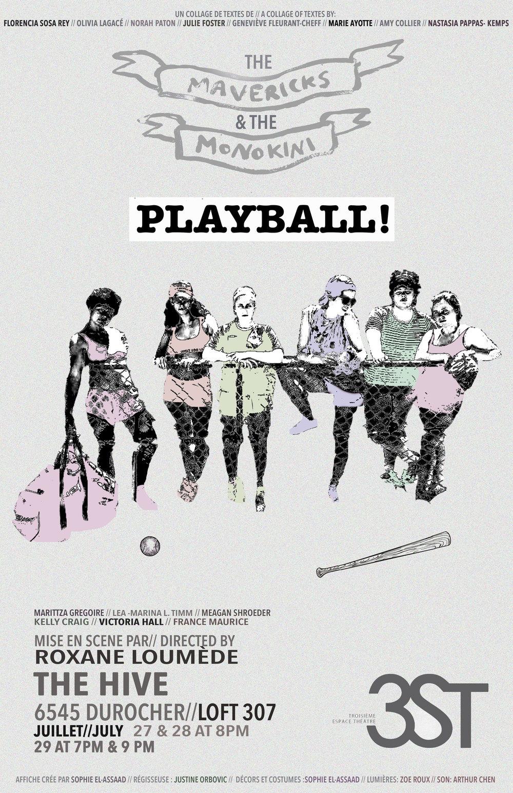 Mavericks and the Monokini: Playball! (3ST) / Set & Costume design