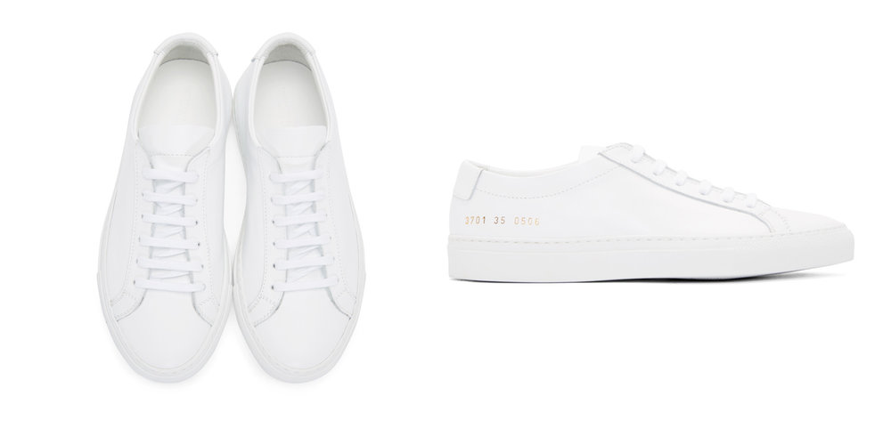 SPLURGE: Low Top Sneakers,  Common Projects , $410