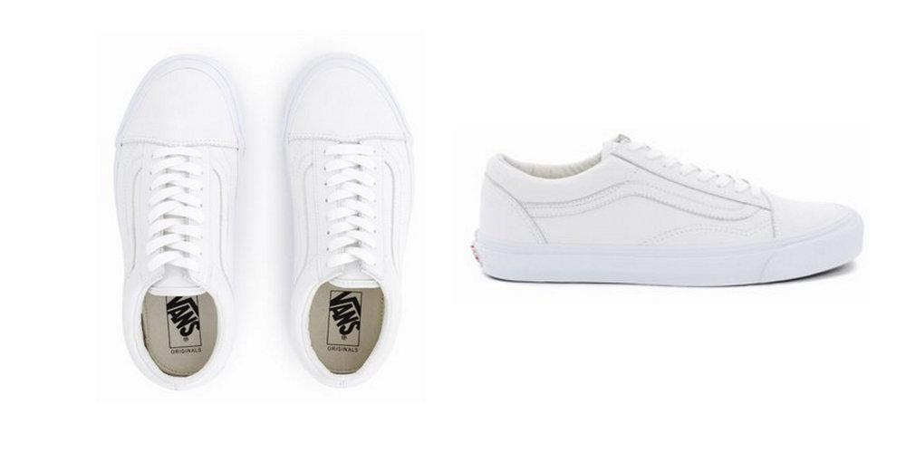 STEAL: Low Top Sneakers,  Vans , $100