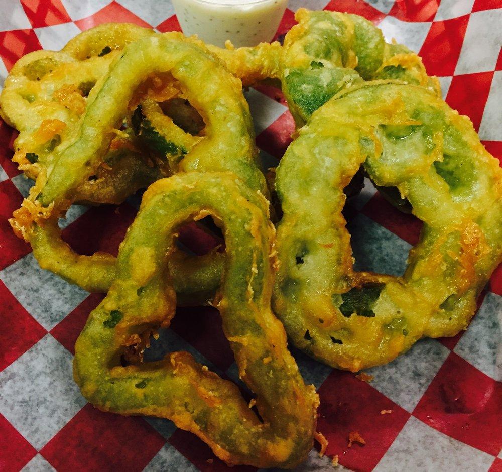 Green Pepper Rings