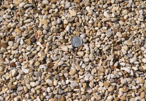 """3/8"""" Native Pea Gravel"""