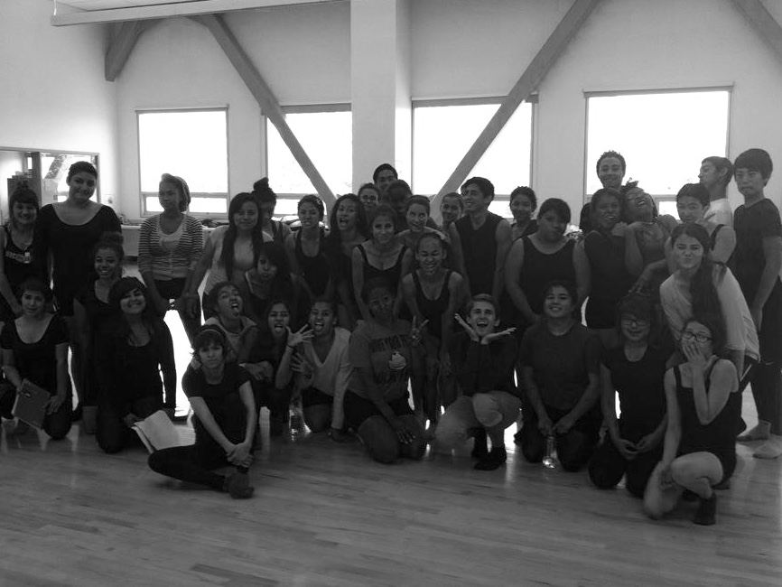 Master Class at Ramon C. Cortines School of Visual and Performing Arts in Los Angeles // 2012