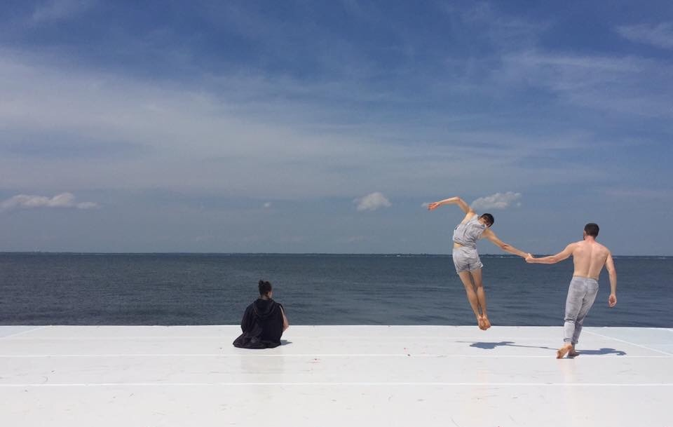 Mike and Harvey   Choreography / Andrea Miller  Photo / Andrea Miller  Fire Island Dance Festival, NY