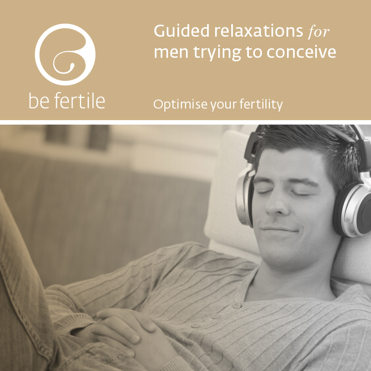 Guided relaxations for men trying to conceive