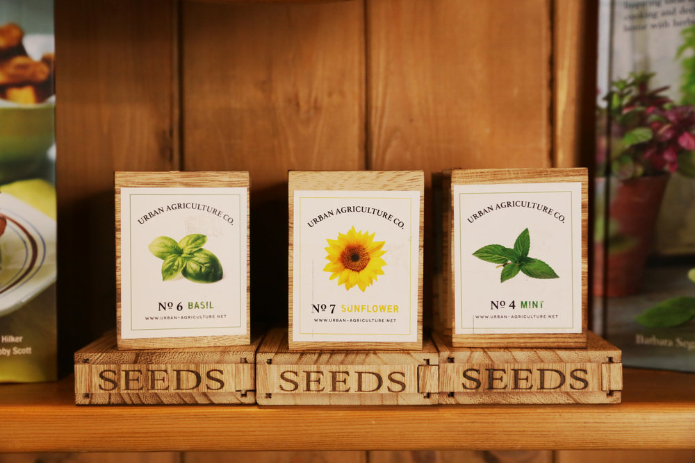 Urban Agriculture Seed Gifts