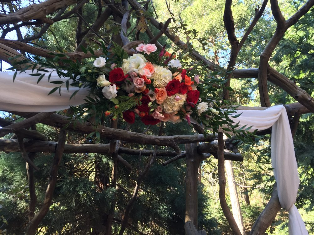 Wildflowers at The Lake Wedding Floral Design