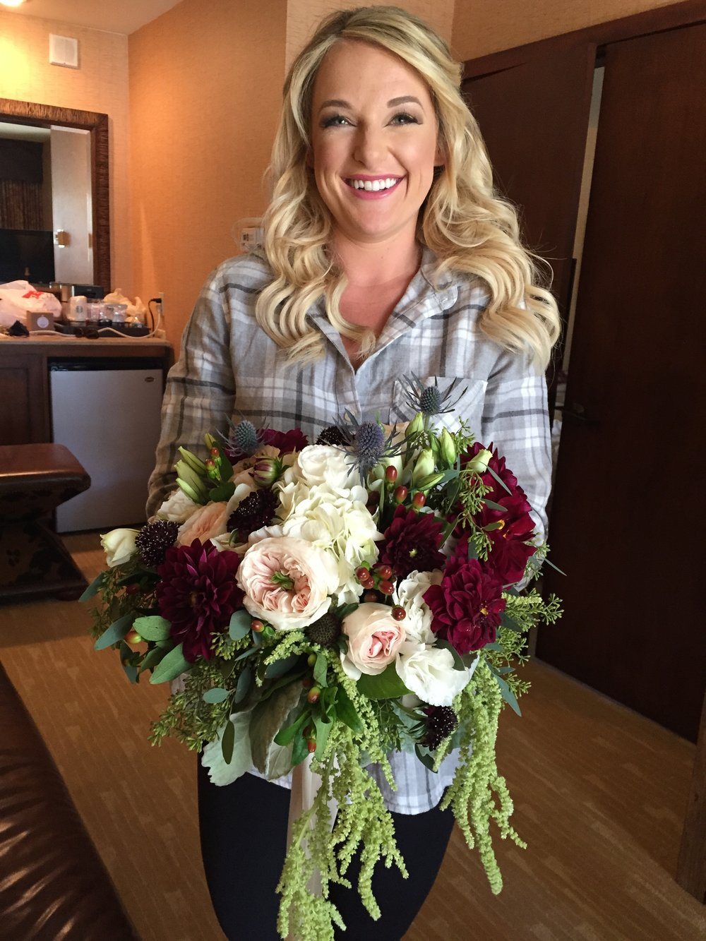 Wildflowers at The Lake Wedding Floral Design - Bridal Bouquet