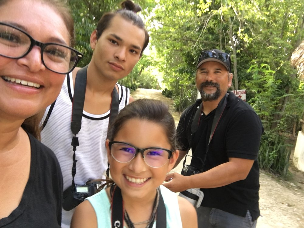 SDM crew, Maritza, Gabriel, Sophia C., and me.