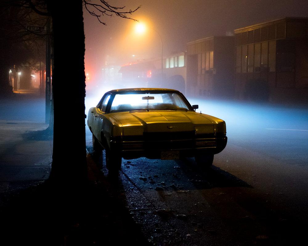 'Fog Lights' 5x7