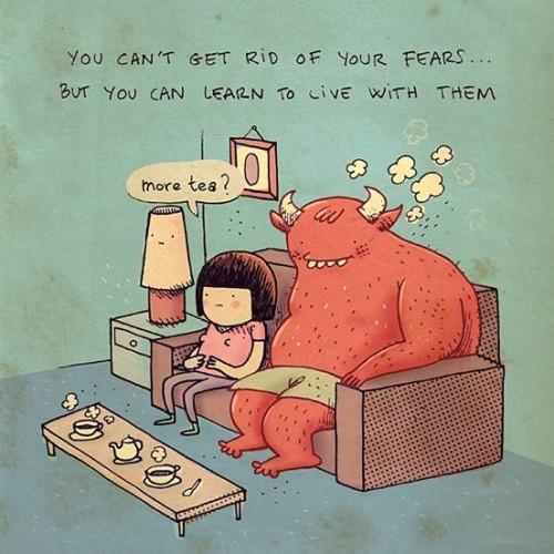 Fear monster by Alex Noriega