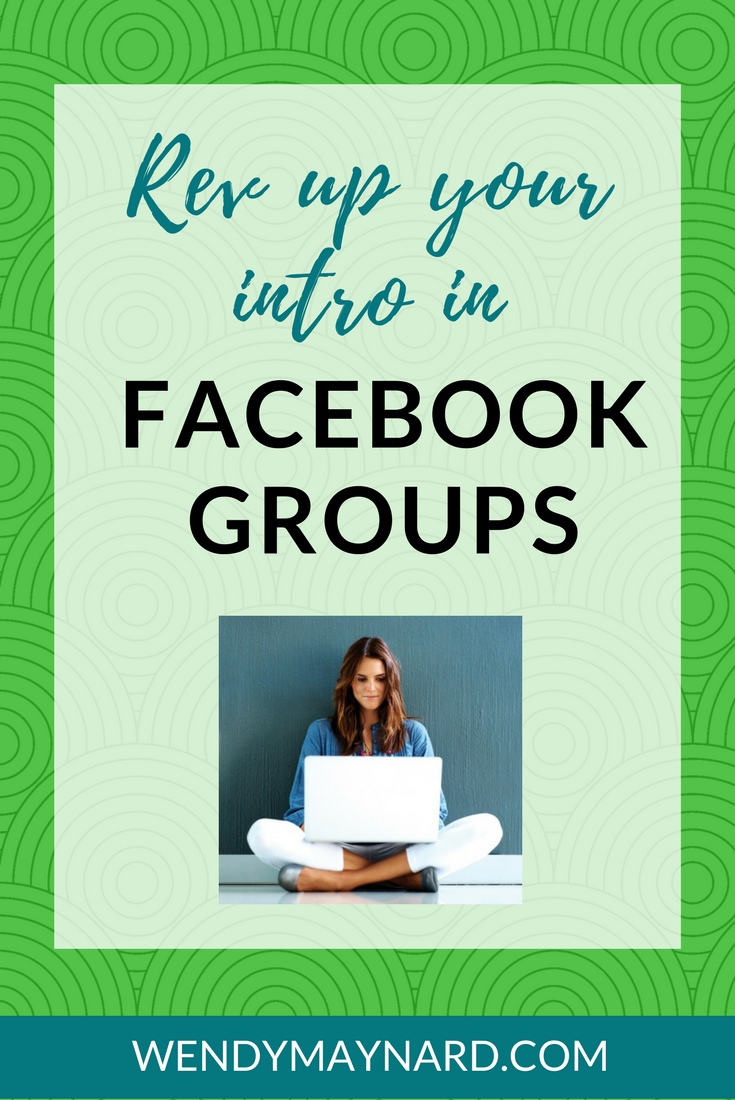 How to introduce yourself in Facebook groups