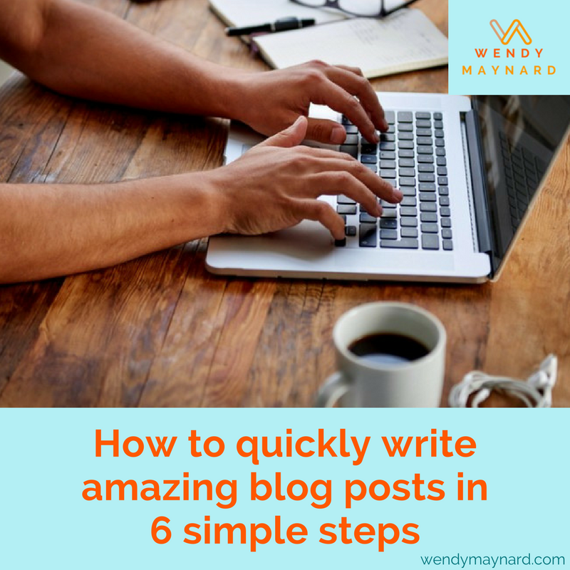 How to quickly write amazing blog posts