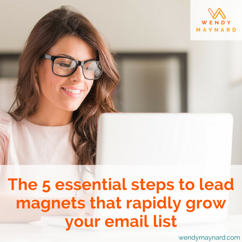 How to create lead magnets to rapidly build your list