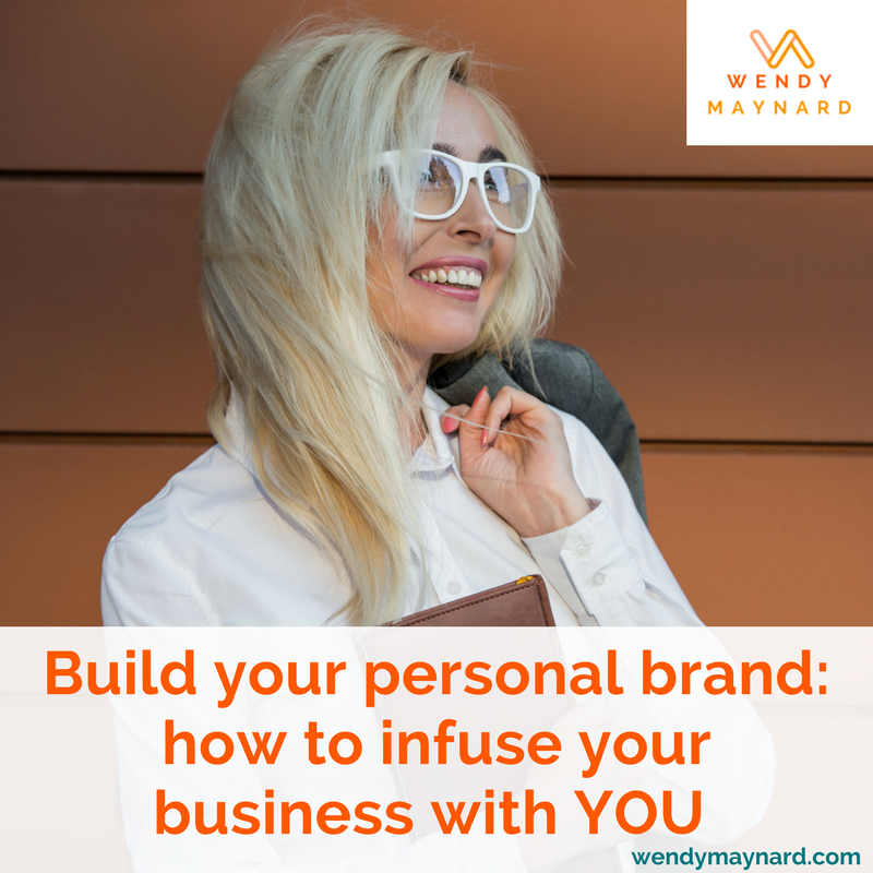 Anchoring your business around your personal brand will draw premium clients to you, make your business more memorable, and completely differentiate you from your competitors. Your personal brand is what will showcase your unique and authentic personality.