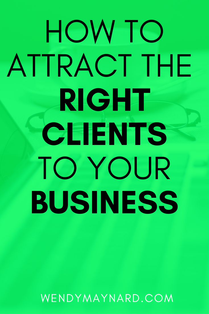 For small business owners, getting clients is probably the number one stress. Are you attracting your ideal clients? Or are you still working with clients you don't even like? It's time to make a change, learn how to attract ideal clients who pay you a premium price.