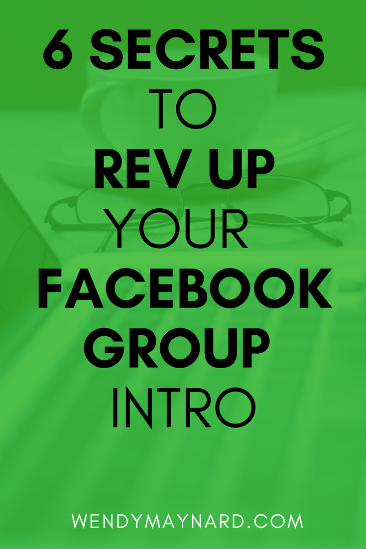 Whenever you go into a Facebook group, it's a networking opportunity to get noticed and get clients. And it all starts with your introduction.