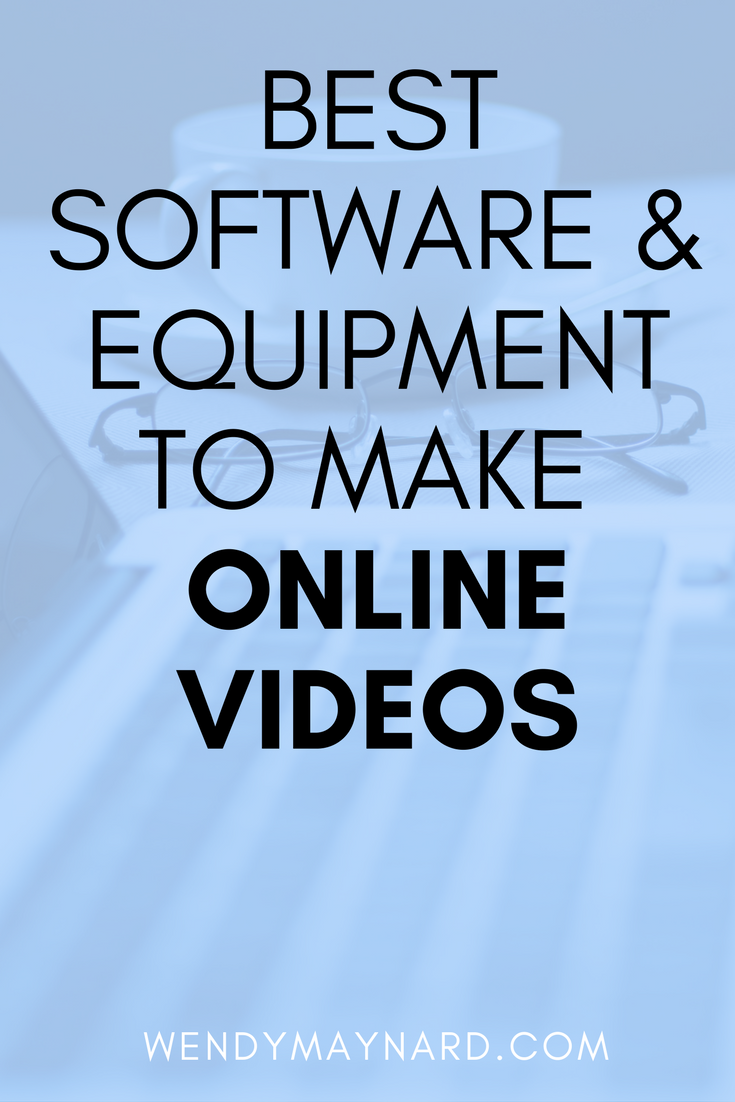 Facebook live stream and video equipment for beginners. The software and equipment you need to get started.