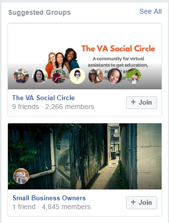 Which Facebook groups should I join?