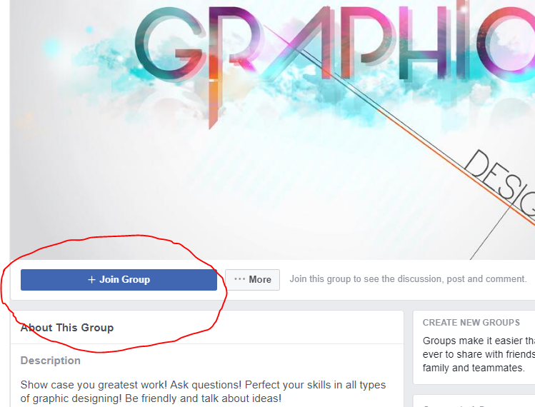 How to join Facebook groups for business