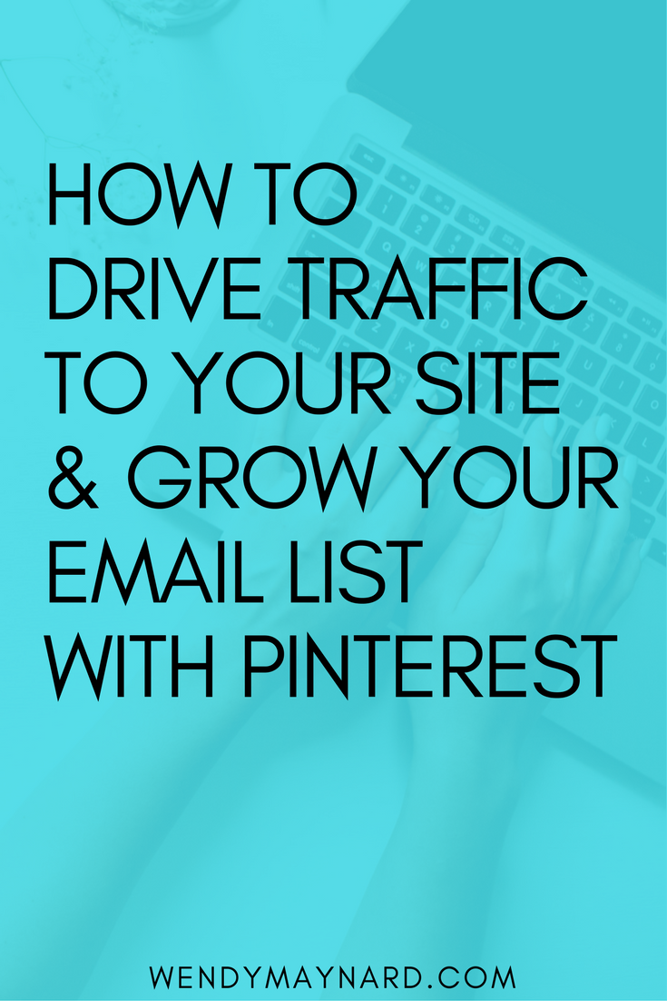 Pinterest is an amazing source of traffic and leads (and no, it's not just for 30-year-old, Suzy Homemakers). It's one of the most underutilized but insanely effective marketing platforms out there. You can use it to exponentially grow your email list. Learn more and Pin this for later!