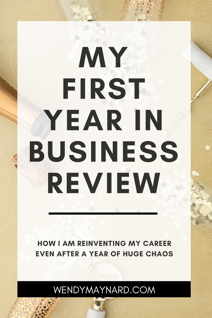 My First Year In Business: A Review. Why I Am Celebrating My Successes Even