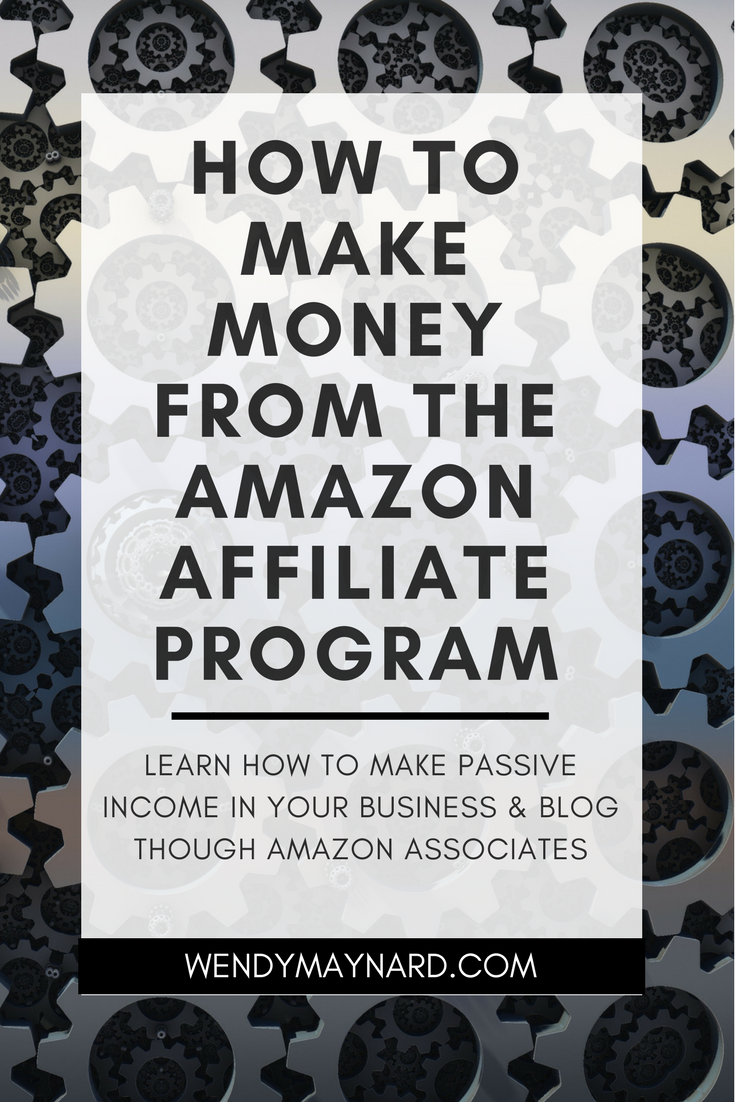 make more passive income in your business is through the Amazon affiliate program,