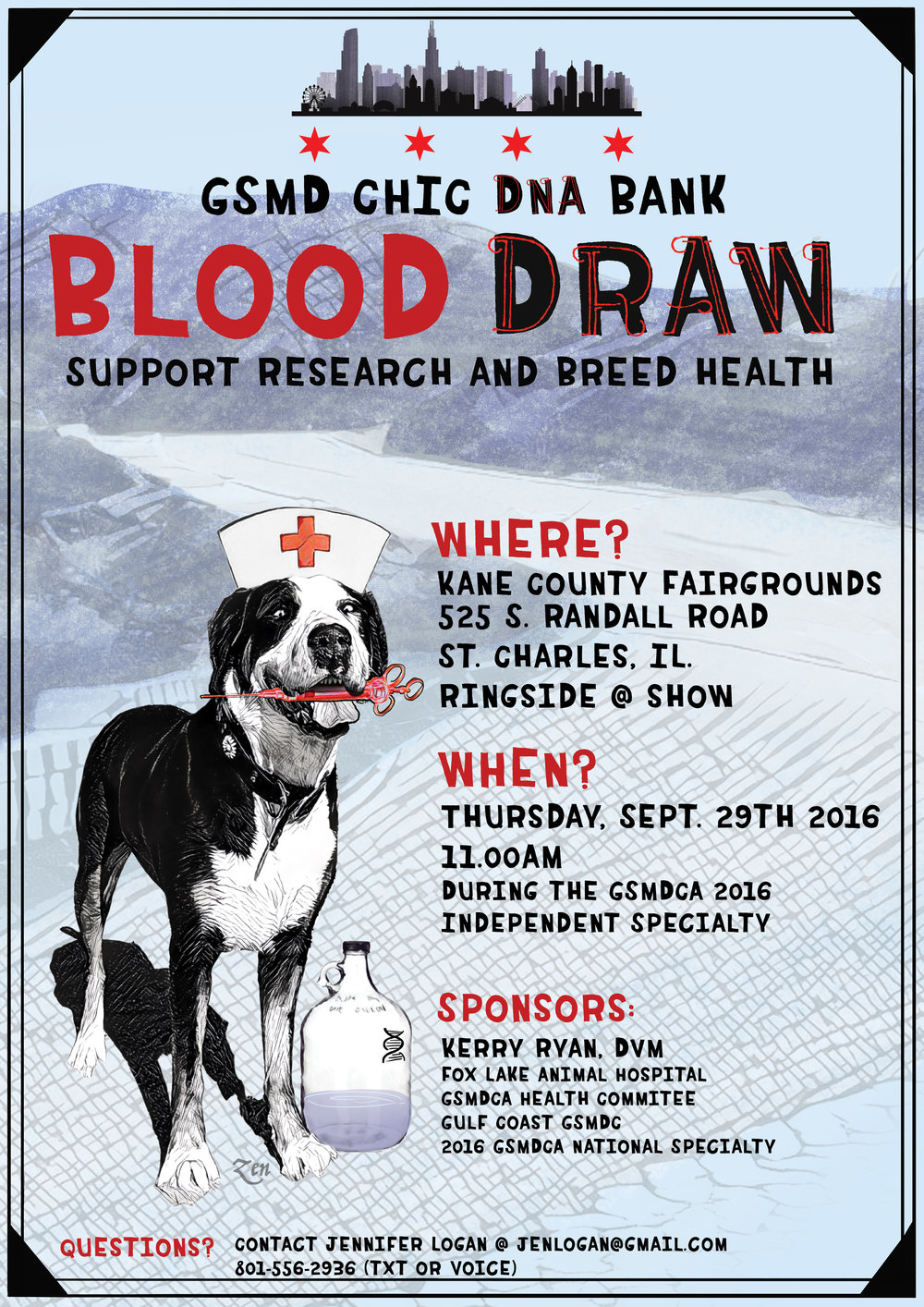 Blood Draw Poster