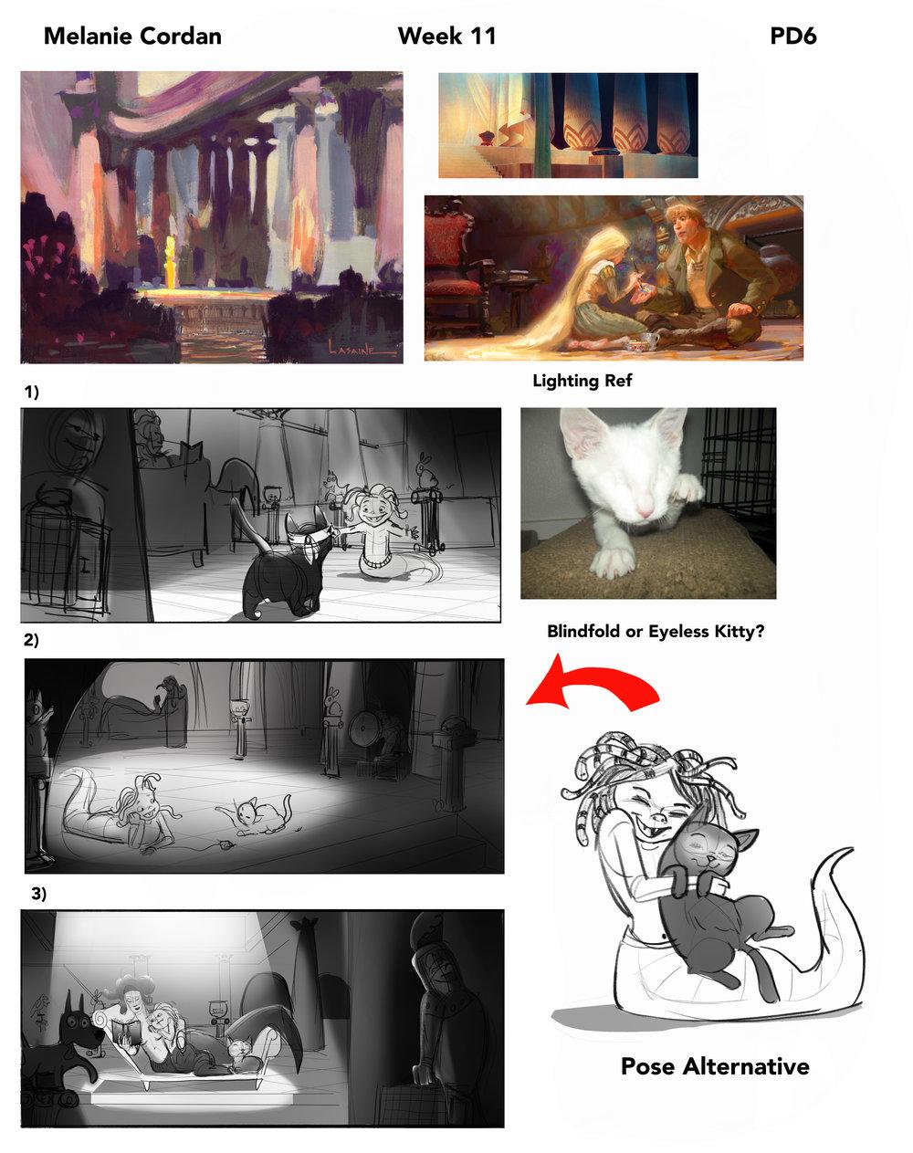 Ideas for a Medusa illustration
