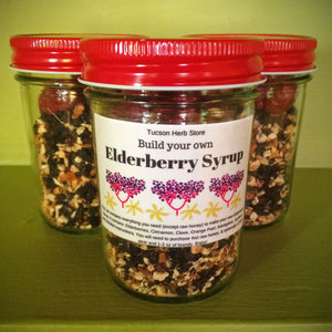 Our new elderberry syrup kit tucson herb store things you will need to purchase 4 ounces of honey and optionally a fresh pear or 2 ounces of brandy solutioingenieria Choice Image
