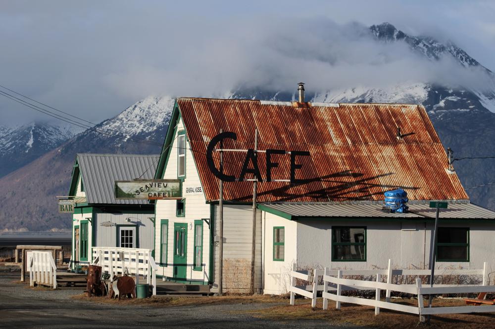 Downtown Hope, Alaska!