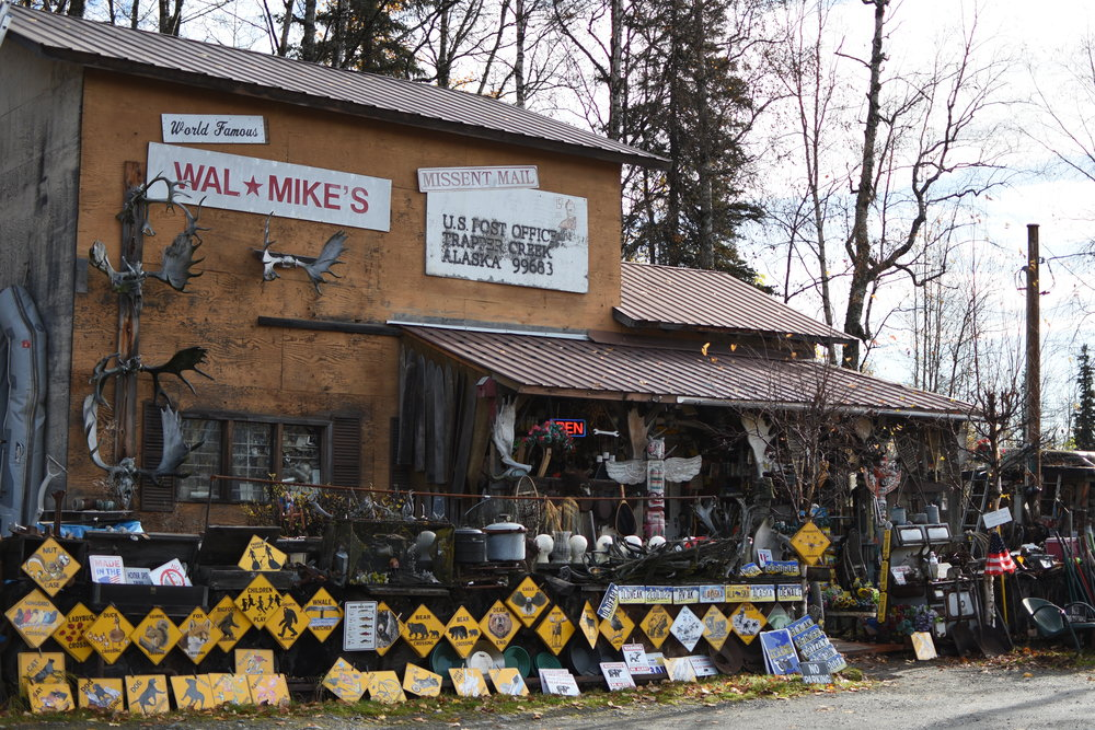 On your way up to Denali, be sure to stop by WalMike's in Trapper Creek. You'll be glad you did!