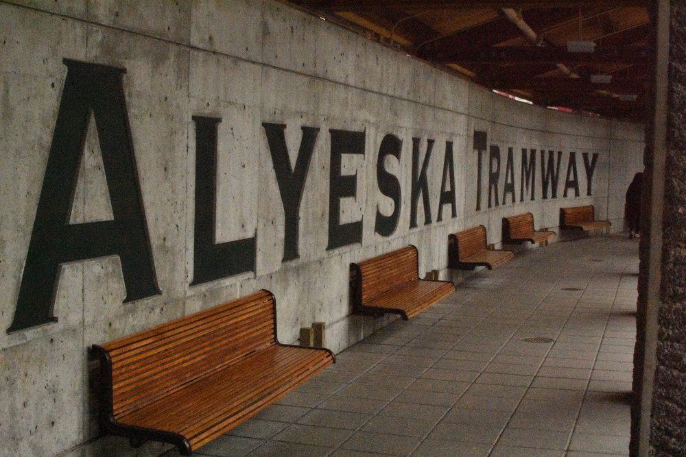 Take a ride up the Alyeska Tram to the top of Alyeska Ski Resort!