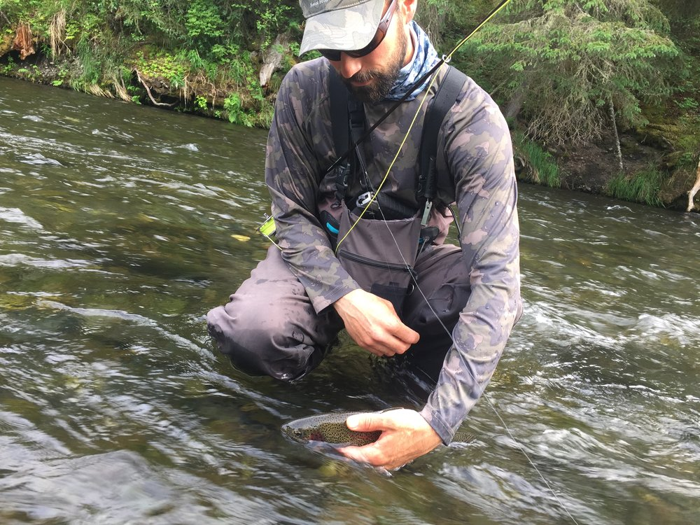 Dry Fly action on the Russian River!
