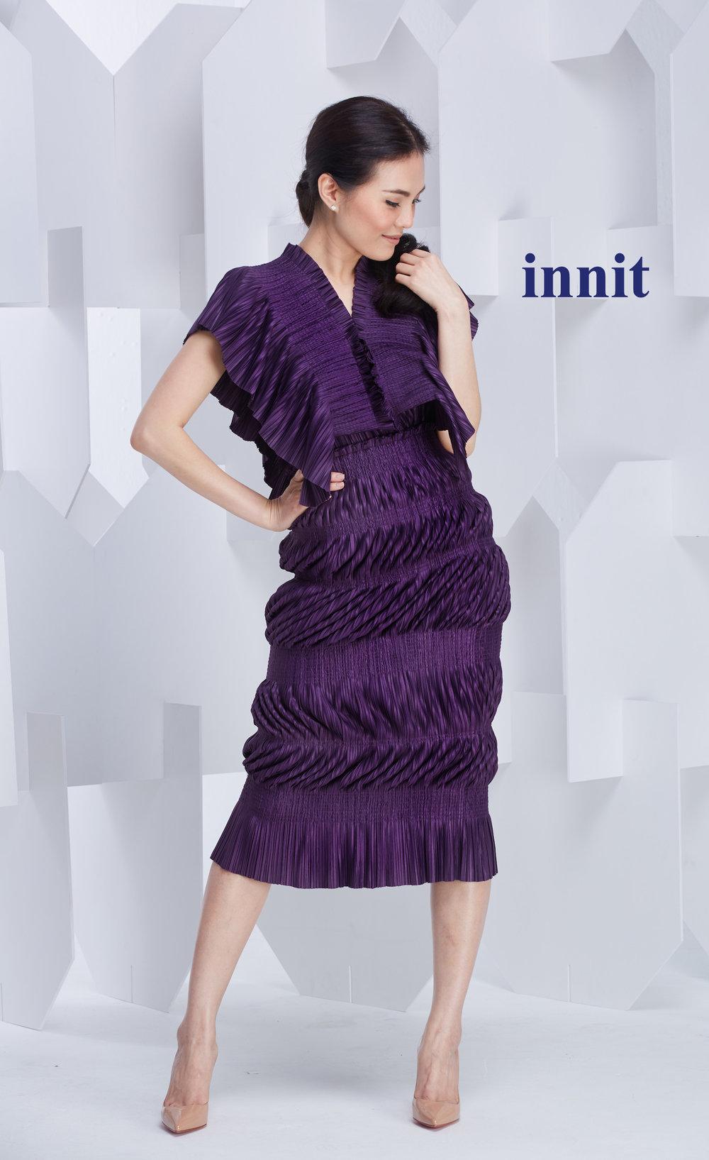 WAVE DRESS  worn as a skirt    Gamma Top