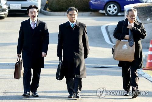 President Park's Legal Team