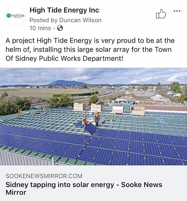 #gosolar #renewableenergy #victoria #hightideenergy