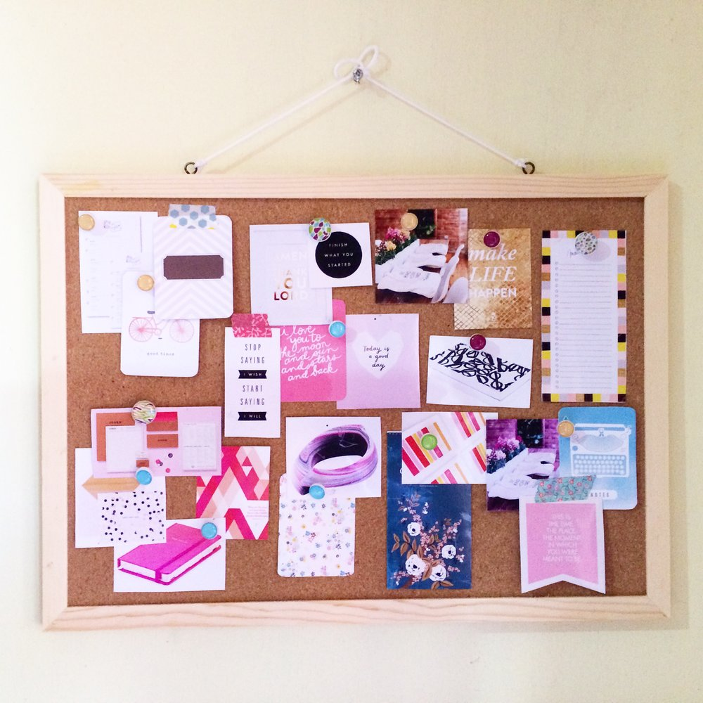 moodboard assembly I made for paper products design inspiration