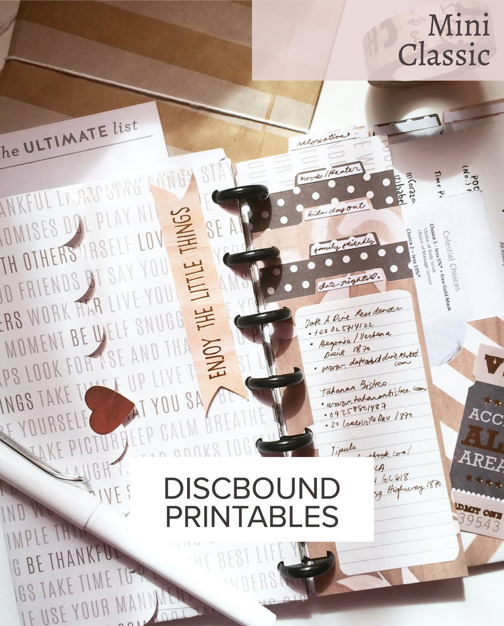 DISCBOUND PLANNERS
