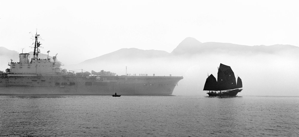 © Fan Ho, 'East Meets West', Hong Kong 1963