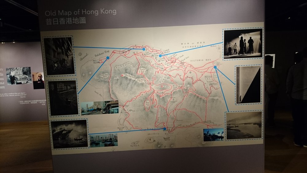 Map of Images taken by Fan Ho