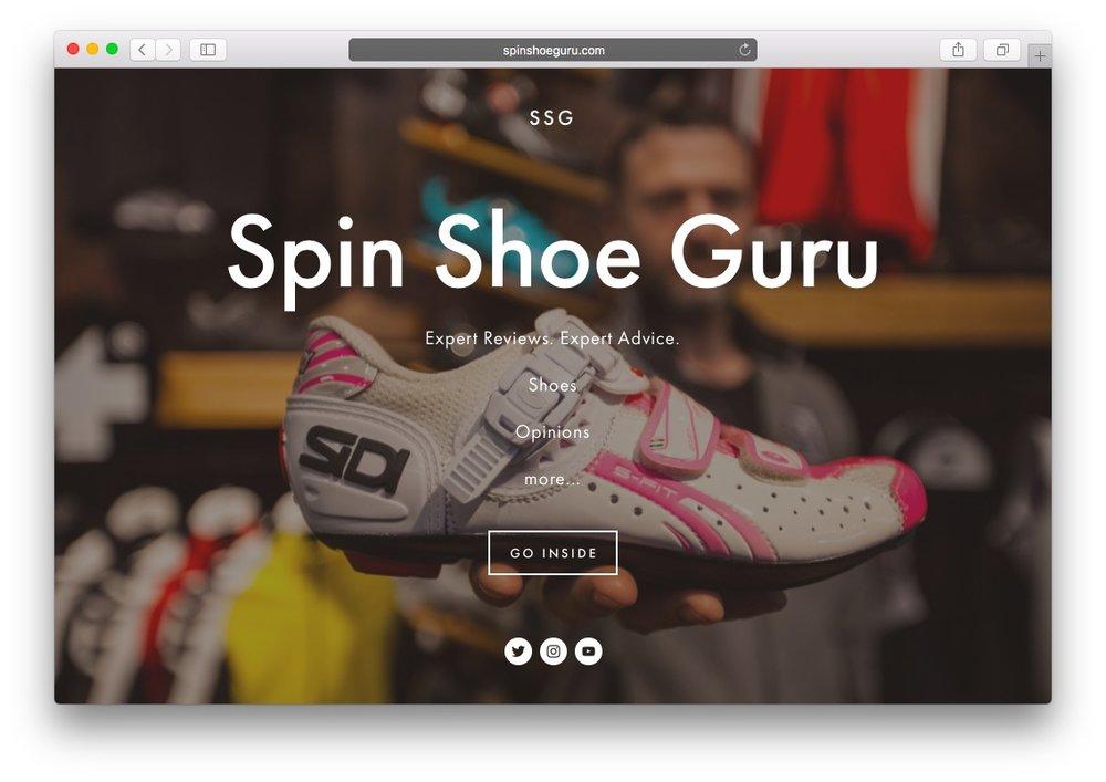 Spin Shoe Guru</br>Bike Shoe Consultant