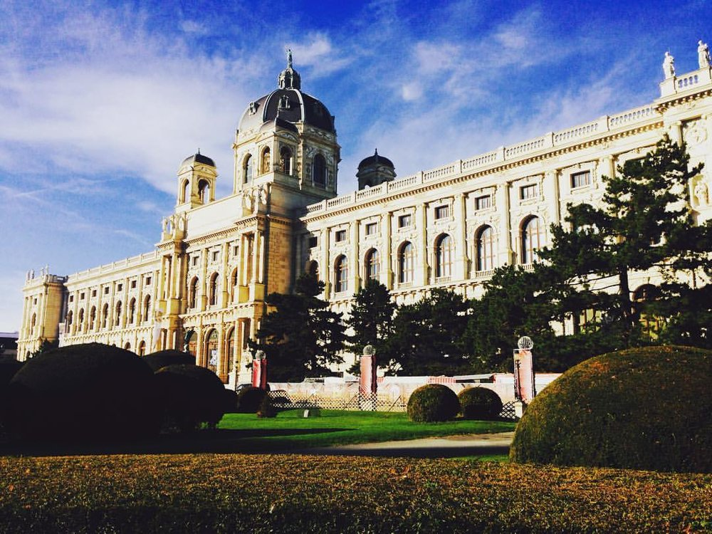 Naturhistorisches Museum, Vienna. Built in the late 19th century.