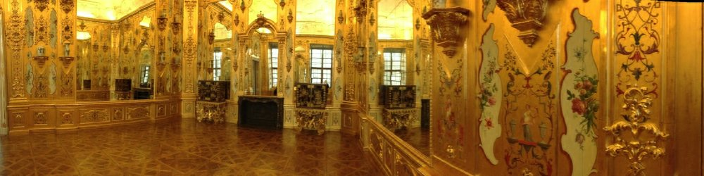 Like this room in the Lower Belvedere which is literally wall to wall gilt.
