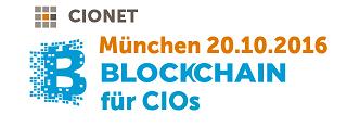 Das vermutlich erste Blockchain Event für CIOs!