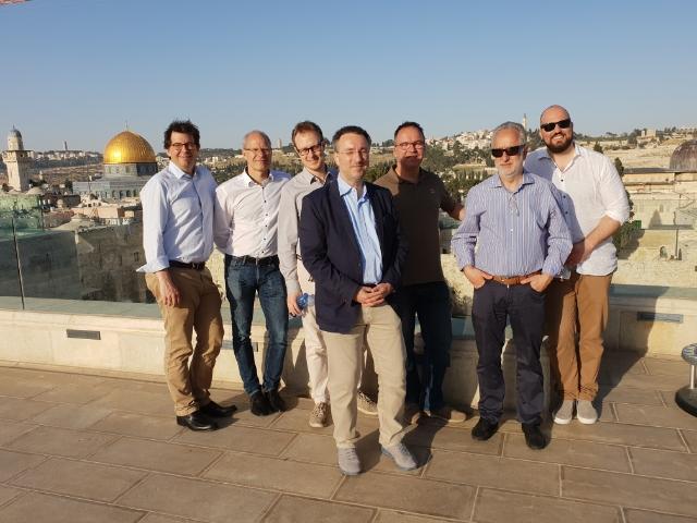 Über den Dächern der Altstadt von Jerusalem