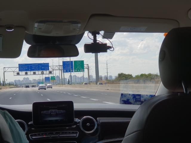 auf dem Weg nach Be'er Sheva (Montag 23.04.2018)