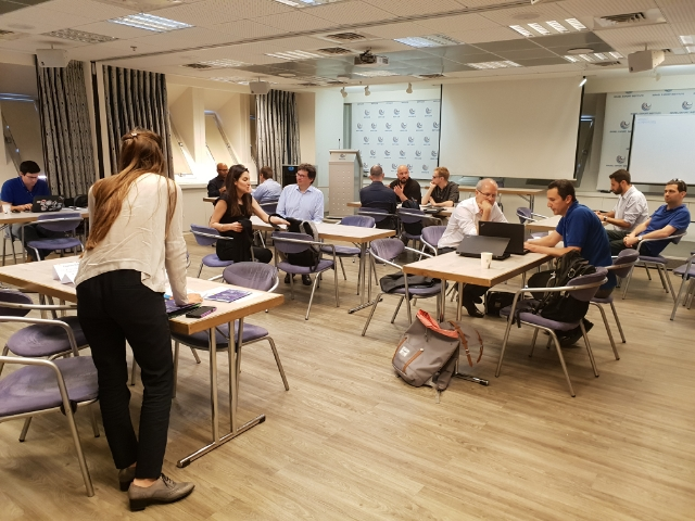 Speed Dating im Israel Export Institute in Tel Aviv