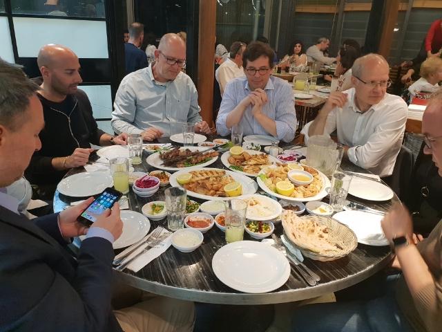 Dinner im Hafen von Jaffa