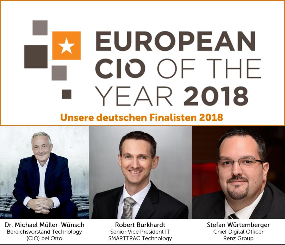 """Mit den """" European CIO of the Year Awards """" geben wir innovativen europäischen CIOs und ihren IT Teams Sichtbarkeit über Landesgrenzen hinweg"""