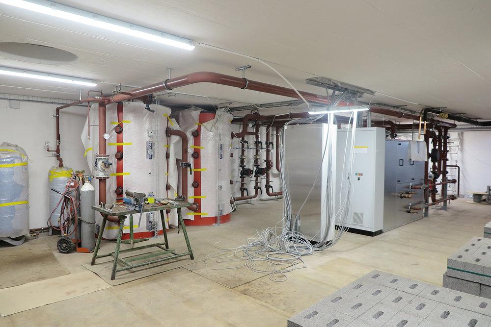 Gesamtübersicht der neuen Energiezentrale